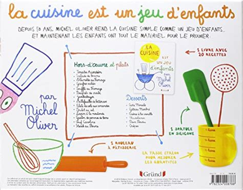 la cuisine est un jeu d enfants coffret la cuisine est un jeu d 39 enfants michel oliver