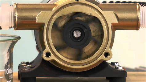 jabsco    impeller pump work youtube