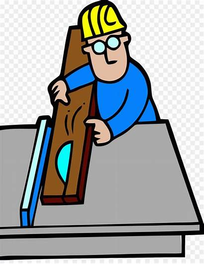 Clipart Carpenter Joiner Carpentry Construction Clip Transparent
