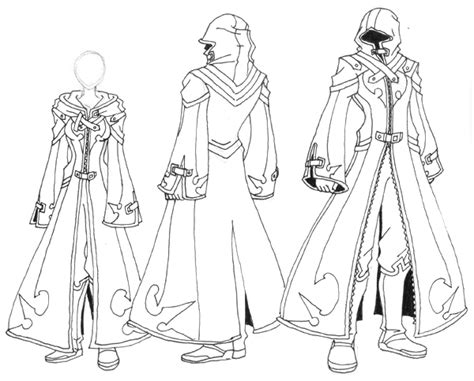 Xziled Robe Design 1 By Exild-order On Deviantart