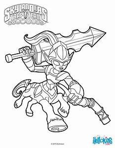 Wolfgang Skylanders Trap Team Coloring Pages Coloring Pages