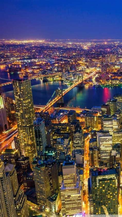 iphone   wallpapers  york city manhattan  night