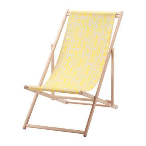 chaise jaune ikea mysingsö chaise de plage jaune ikea