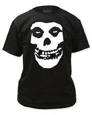 Official The Misfits Fiend Skull Logo Adult T-shirt ...