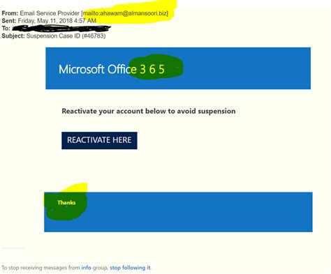 Office 365 Email Java by Office 365 Phishing Exles Wireguided Llc