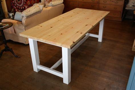 farmhouse style table  wooden workshop oakford devon