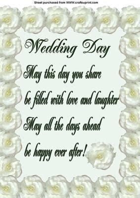 wedding day verse cup craftsuprint
