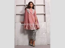 Latest Pakistani Cape Style Dresses 20182019 Top Designer