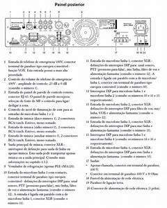 Amplificador Misturador 30w Bosch Plena Ple