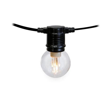 light bulbs on a string meilo creation g45 dip 10 count 30 ft led light bulb