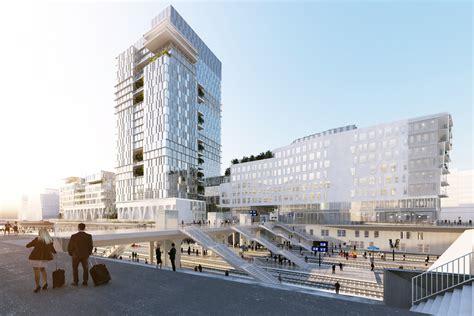 manpower nanterre siege jean paul viguier architecture projet siège social de
