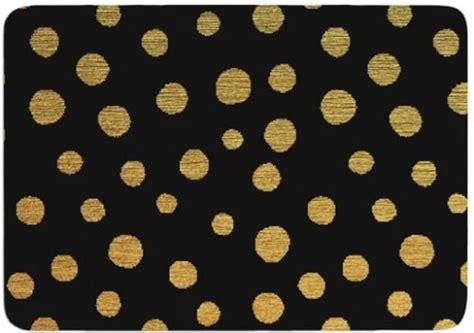 stunningly affordable black  gold bathroom rugs  buy