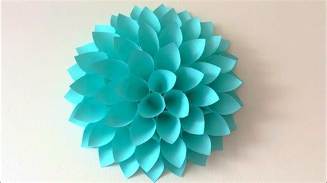 In my experience with command strips you will probably need to use more then one strip to keep the flower hanging securely. Big paper flowers DIY. Giant flowers DIY. Wall decor ...