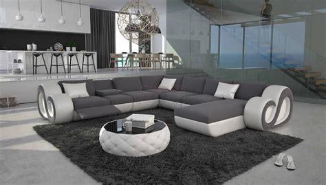 canapé en u design grand canapé d 39 angle en u led nesta xl 2 499 00