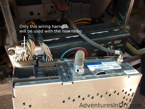 1995 F150 Wiring Harnes by Ford F 150 Factory Radio Uninstall And New Radio Install