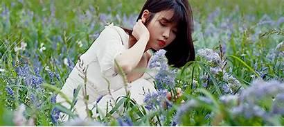 Iu Kpop Friendly Behind Flowers Weheartit Environmentally