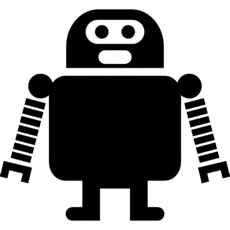 Robot Of Long Arms And Short Legs Icons  Free Download