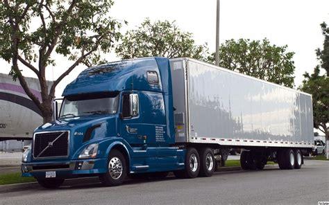 volvo trailer for blue volvo vnl 670 with 53 ft trailer volvo vnl series