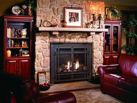standing gas fireplace  custom fireplace quality