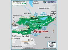 Taiwan map world atlas kalentri 2018 kyrgyzstan map geography of kyrgyzstan map of kyrgyzstan worldatlascom gumiabroncs Choice Image