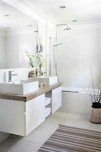 Bilder Moderne Badezimmer : skandinavische m bel moderne badezimmer wei holzfarbe glas badezimmer pinterest interiors ~ Sanjose-hotels-ca.com Haus und Dekorationen
