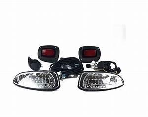 Deluxe Led Light Kit For Ezgo Rxv Golf Carts 2016