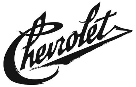 Chevrolet Font by Chevrolet Heritage Script Logo Graphis
