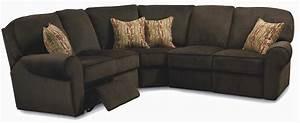 Lane megan 3 piece sectional sofa baer39s furniture for 3 piece microfiber recliner sectional sofa