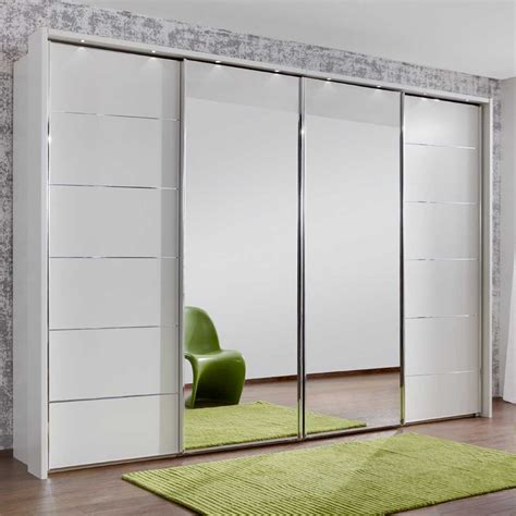 Large White Wardrobe Closet by White Closet Mirror Sliding Doors Closet Ideas
