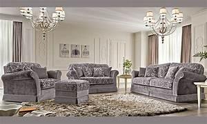 Möbel Aus Italien : luxus sofa sessel 3 2 1 sitzer polster stoff klassische stil m bel italien ebay ~ Indierocktalk.com Haus und Dekorationen