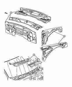 Jeep Grand Cherokee Reinforcement  Fender  Left