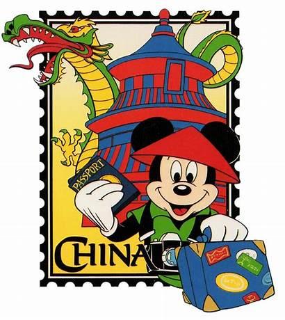 Stamp Clipart Mickey Cartoon Mouse International Disney