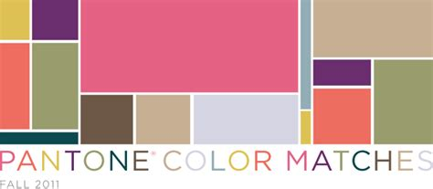 Pantone Color Matches Fall 2011