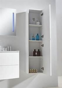 meuble salle de bain albi blanc 100 With meuble salle de bain vitra