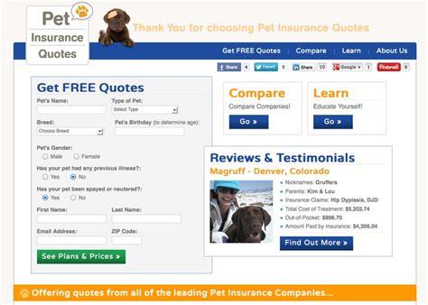 pet insurance quotes 16 best pet insurance images on pet care