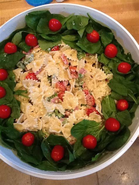 pasta salad for christmas salad recipe pinterest