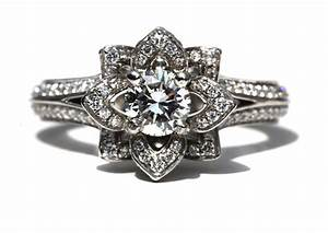 something old engagement ring floral design onewedcom With old wedding rings