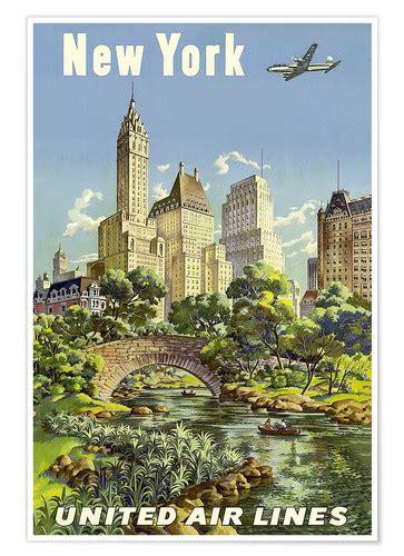 New York United Airlines  Posterlounge  Envío Gratis