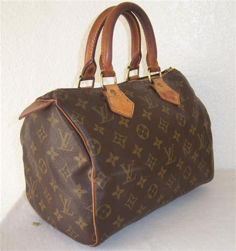authentic louis vuitton speedy  vintage handbag purse