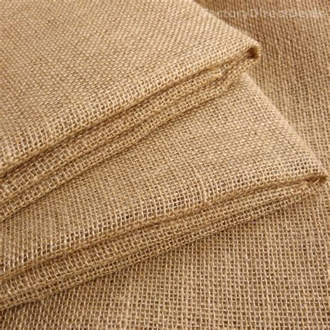 Craft Upholstery by 20 50 Cm Wide 100 Jute Hessian Burlap Fabric