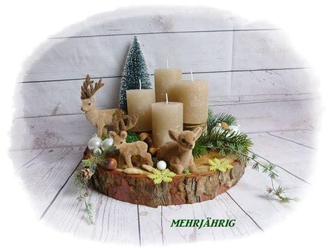 25+ Einzigartige Adventskranz Holz Ideen Auf Pinterest
