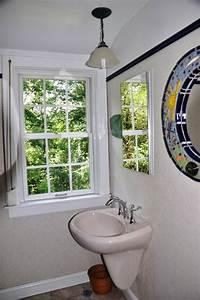 Pendant over bathroom sink lighting