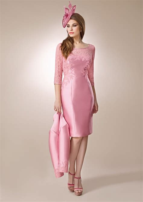 brautmutter rosa kurzmini gerrys brautmoden und