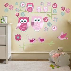 childrens cute owls twit twoo wall stickers decals nursery With cute little girl wall decals ideas