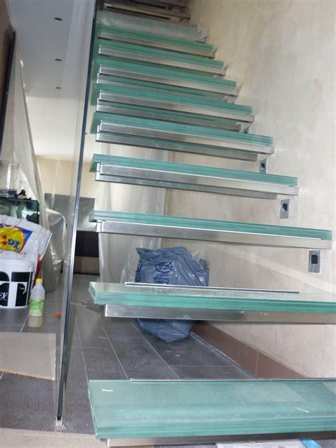 escalier verre cometac