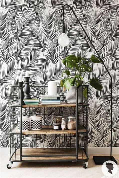 feuilles de palmier amovible wallpaper fond d 233 cran