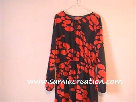 patron gratuit robe de chambre femme tuto couture robe longue avec manches longues partie 1