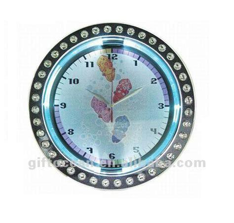 quartz analog wall clock led light wall clock buy round