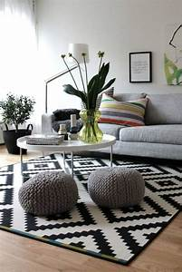les 25 meilleures idees de la categorie salons scandinaves With tapis design avec canapé lodge