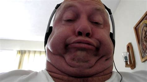 Ugly Face Guy Listens To Rap Music